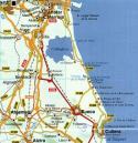 Mapa red viaria de Parque Natural de la Albufera (2)